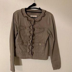 Michael Kors Army Green Utility Jacket